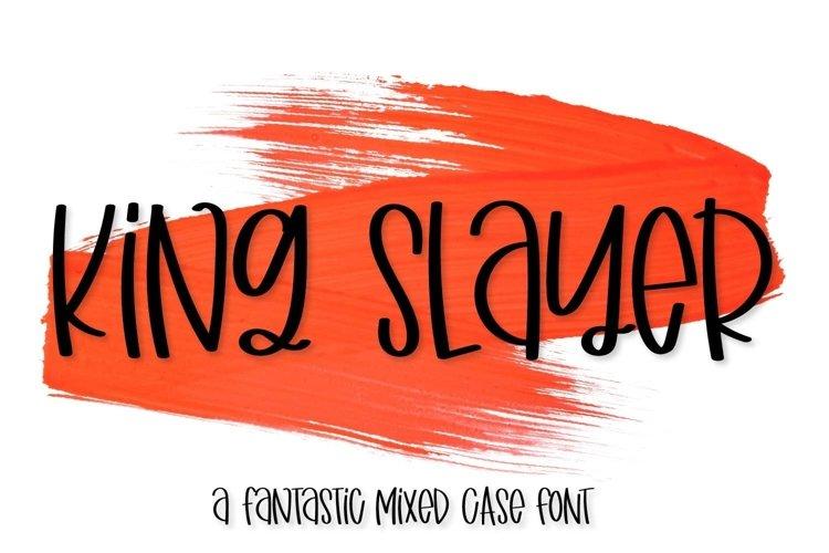 Web Font King Slayer example image 1