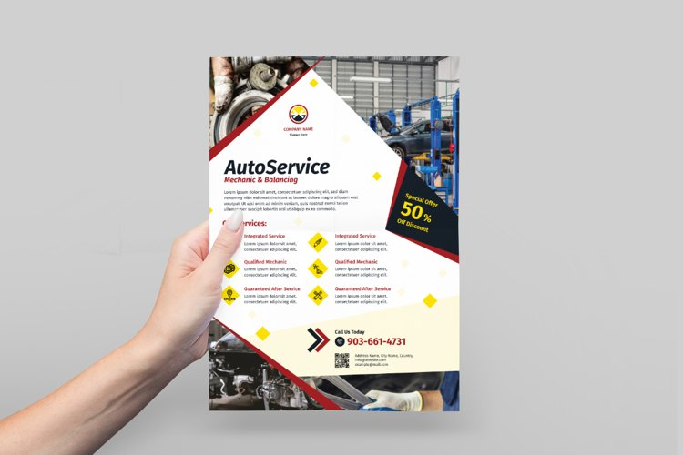 Automotive Service Flyer Design example image 1