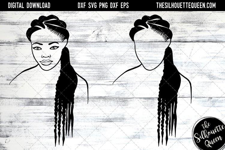 Afro Hair - Natural Long Braids example image 1