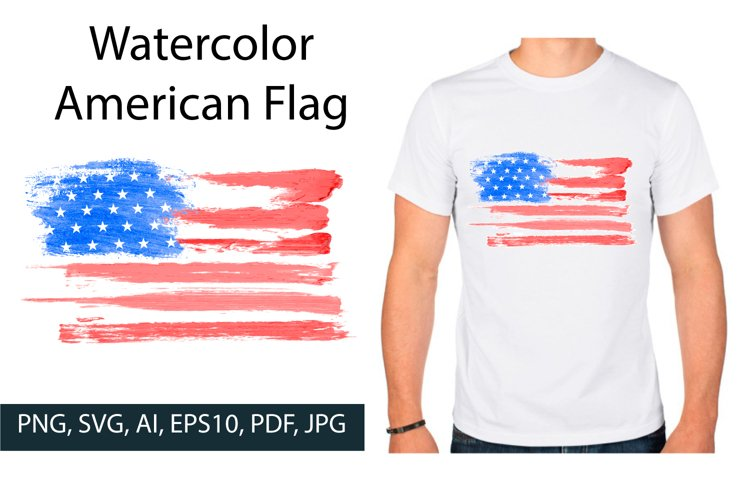 American flag, Grange smears USA flag SVG
