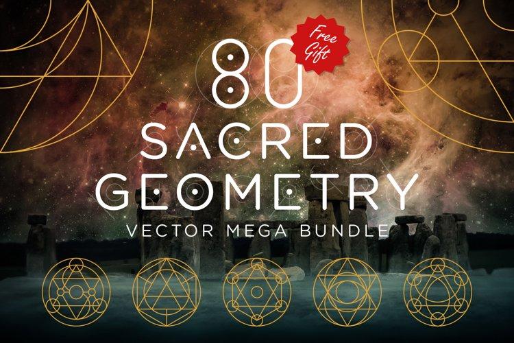 Sacred Geometry Vector Megabundle