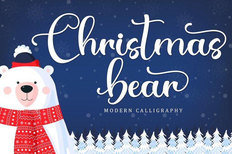 Christmas Bear example image 1