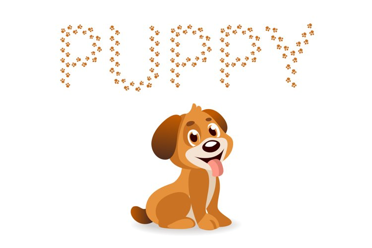 Puppy Paw - Dog Font example image 1