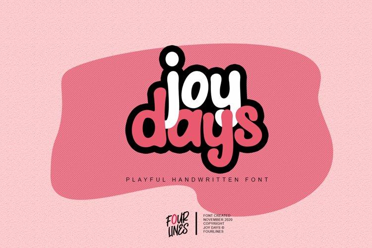 Joy Days example image 1
