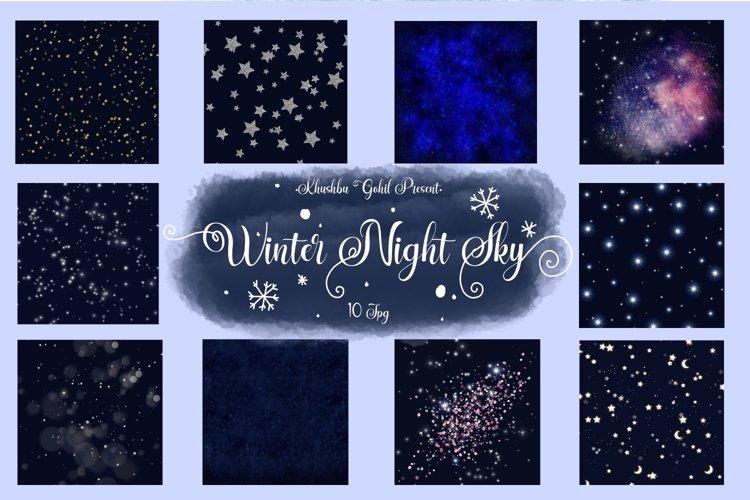 Winter Night Sky example image 1