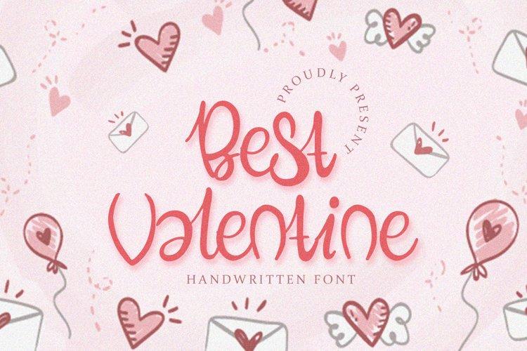 Best Valentine - Handwritten Font example image 1