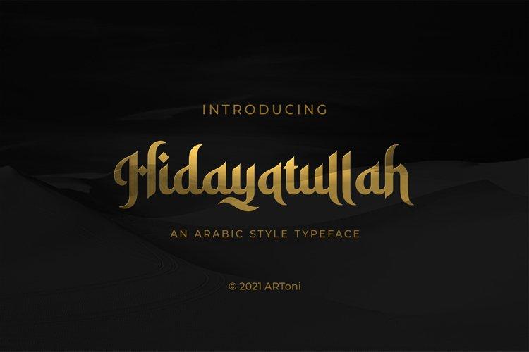 Hidayatullah example image 1