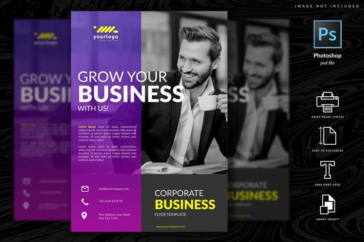 Multipurpose Corporate Flyer Template example image 1