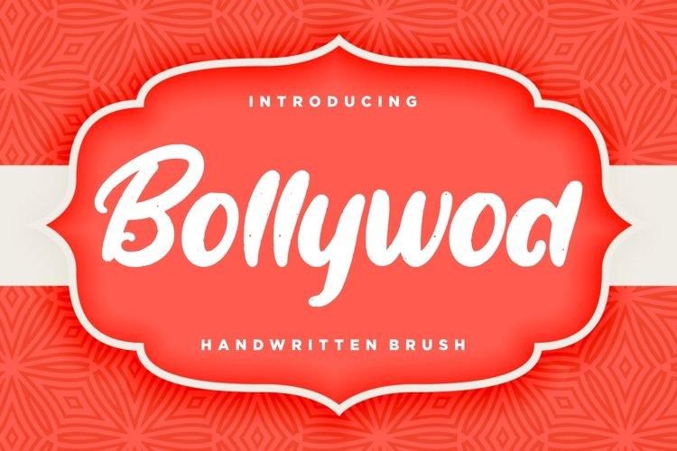 Bollywod Handwritten Brush example image 1