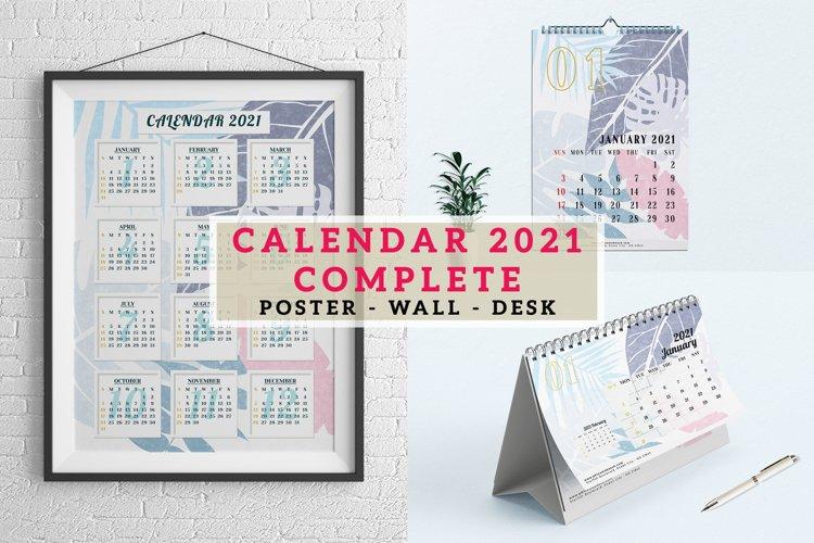 Calendar 2021 - Complete
