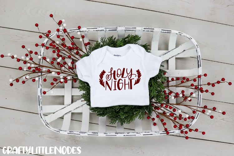 Mini Christmas Bundle - Hand lettered SVG Cut Files example 7