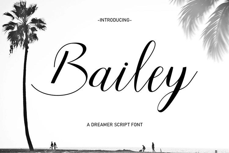 Bailey Script example image 1