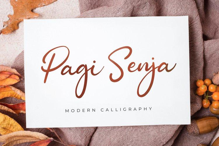 Pagi Senja - Calligraphy Font example image 1