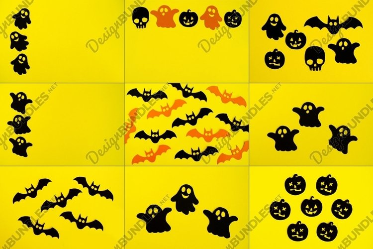 9 photos of paper decorations for Halloween. example image 1