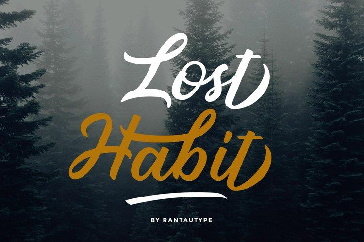 Lost Habit