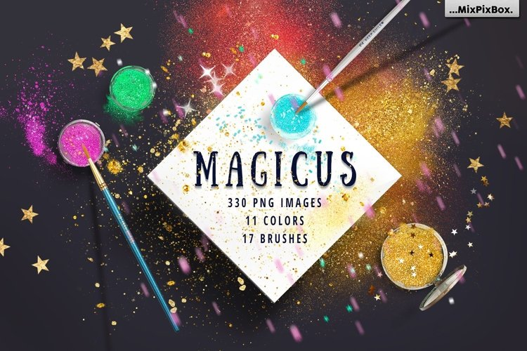 MAGICUS - dust and brushes. example image 1
