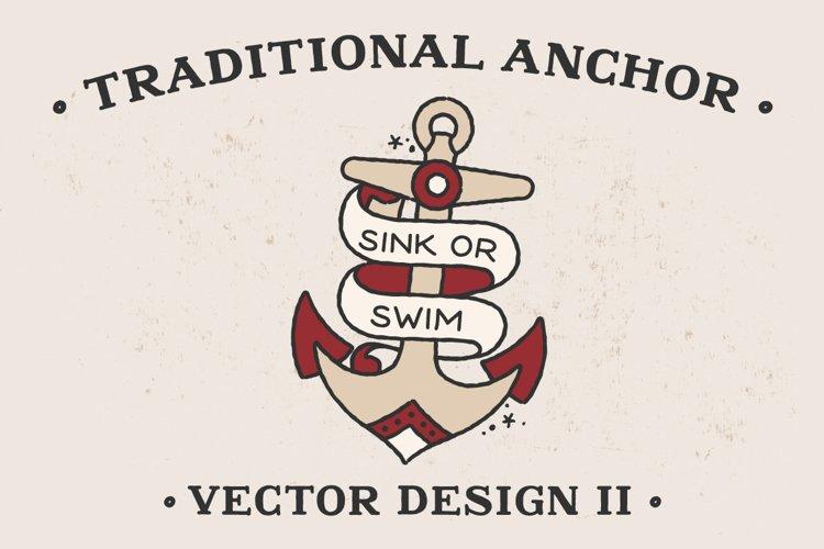 Traditional Anchor Vector Design II