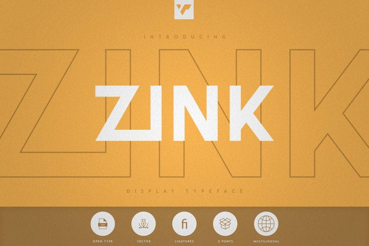Zink - Display Typeface example image 1