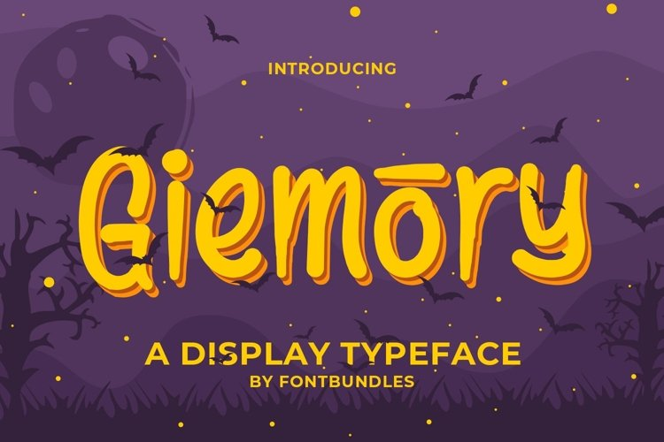 Web Font Giemory example image 1