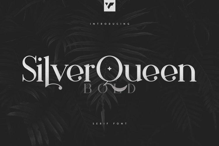 Silver Queen Serif Bold example image 1
