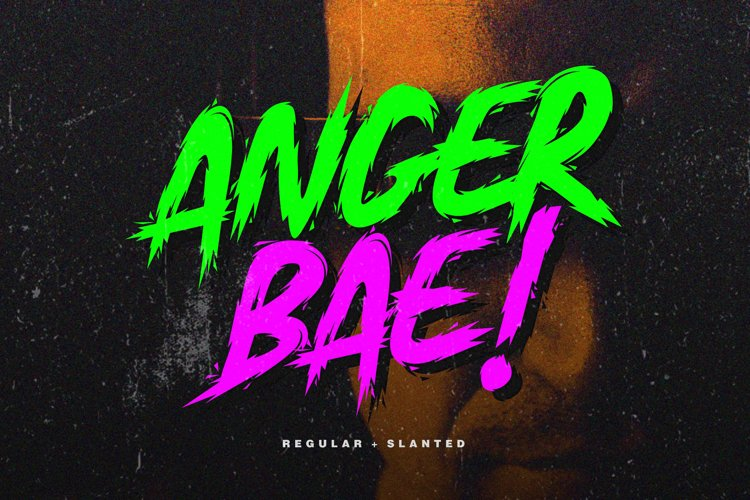 Anger Bae Font example image 1
