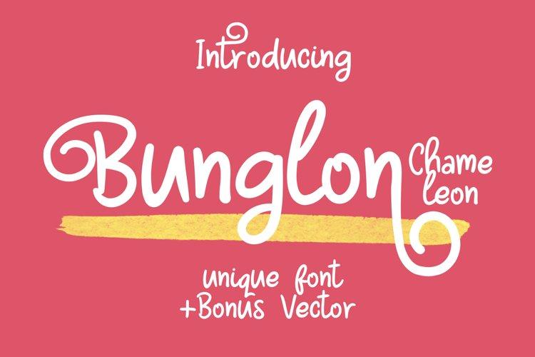 Bunglon Chameleon  Bonus Vector example image 1