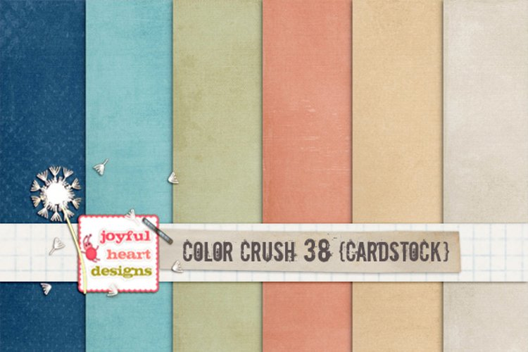 Color Crush 38 {shabby cardstock} example image 1