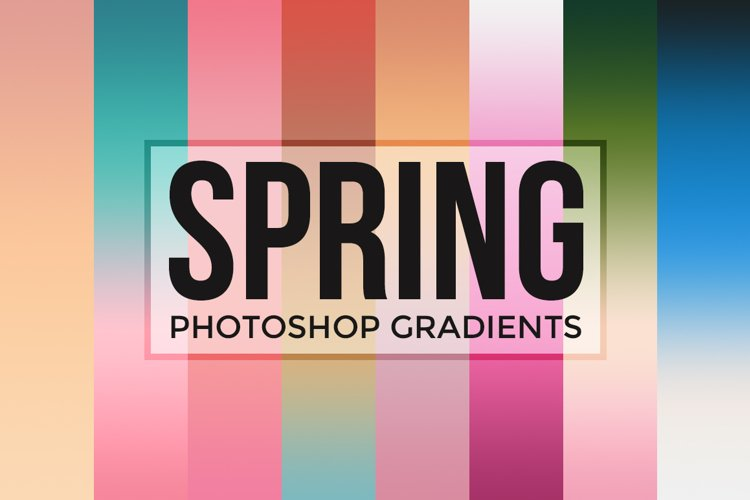 Spring Gradients for Photoshop example image 1