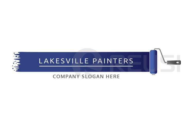 Painters Logo Template example image 1