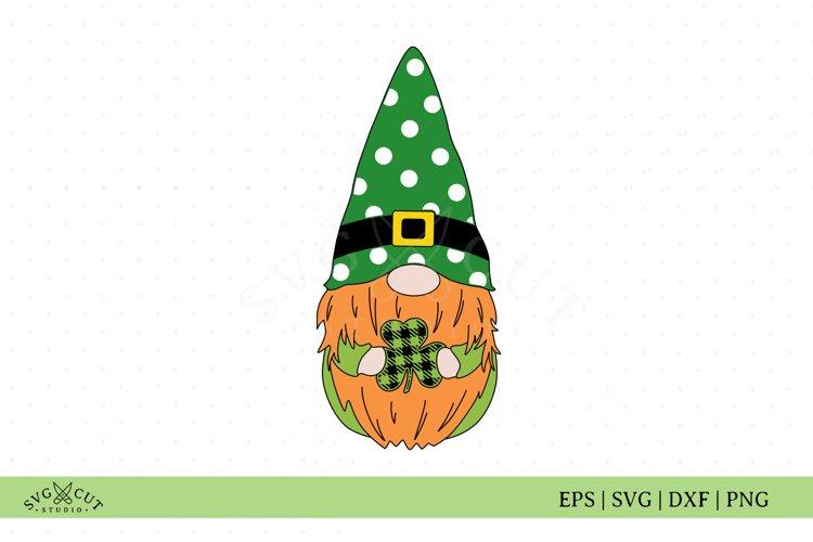 St Patricks Day Gnome SVG Files