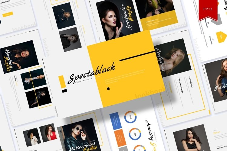 Spectablack | Powerpoint Template example image 1