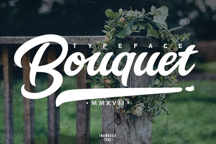 Bouquet Typeface example image 1