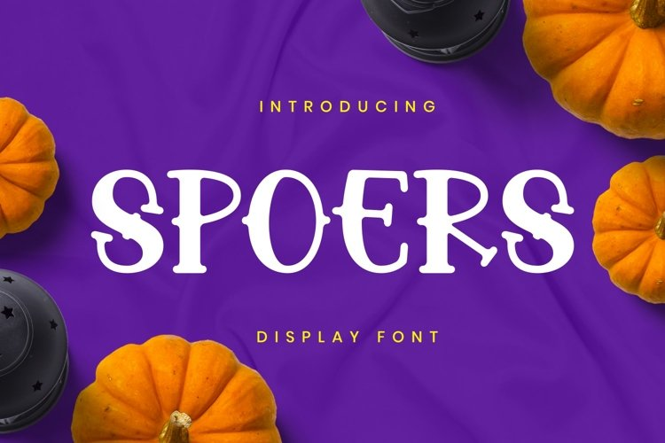 Spoers Font example image 1
