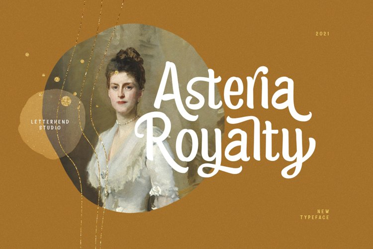Asteria Royalty - Handwriting Font example image 1