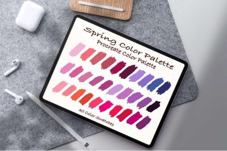 Spring Color Palette, Pantone color ,Procreate Palett