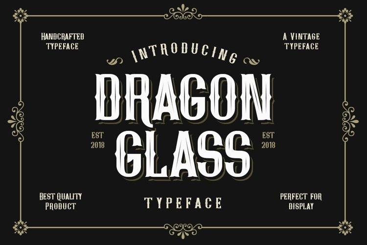 Web Font Dragon Glass example image 1