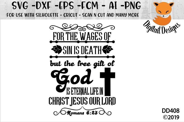 Romans 6-23 SVG example image 1