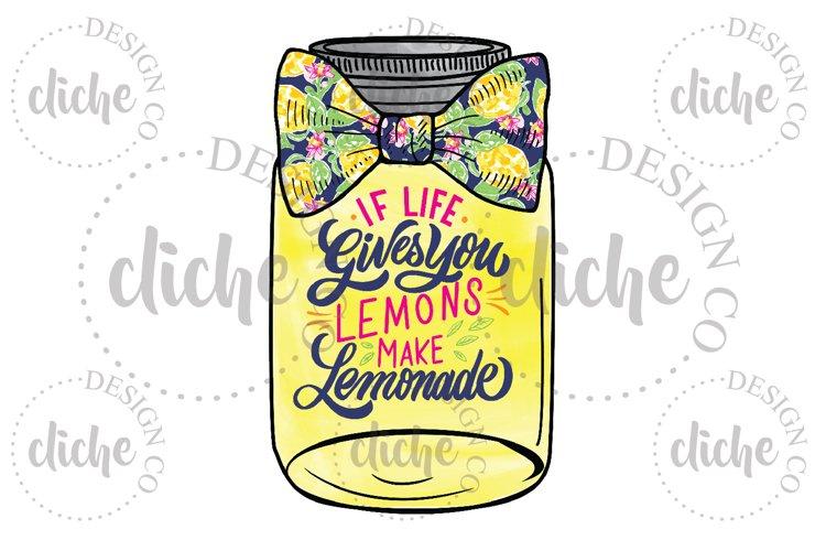 Life Gives You Lemons Sublimation Design