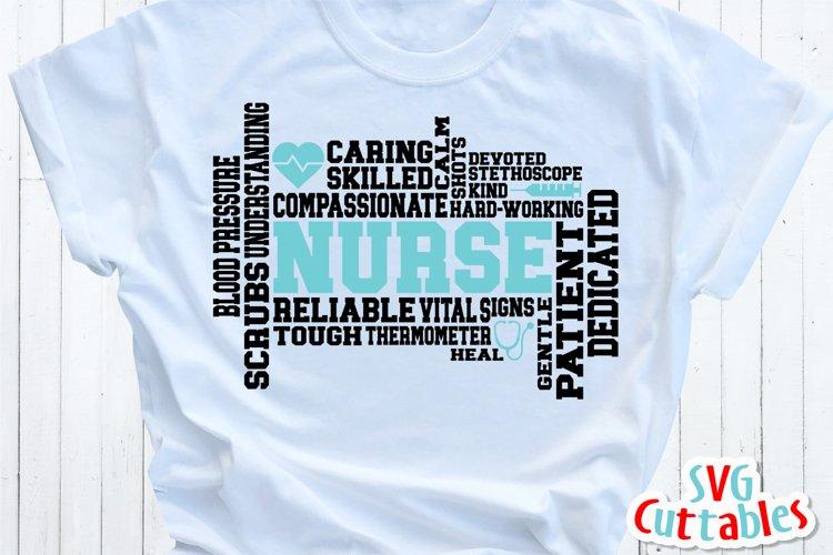 Nurse SVG   Nurse Word Art   Shirt Design