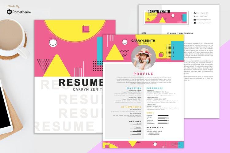 Clean Resume vol. 27 example image 1