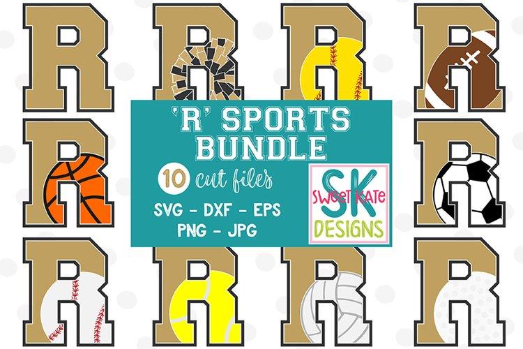 R Sports SVG Bundle - 10 - SVG DXF EPS PNG JPG example image 1