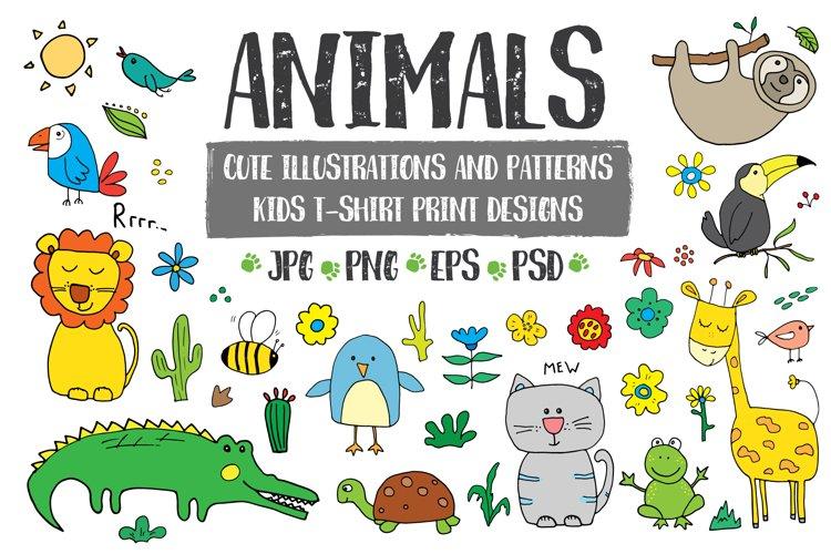 Cute Animal Illustration Collection