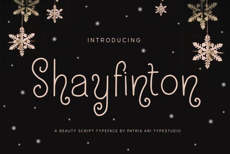 Shayfinton example image 1