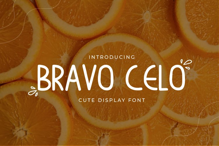 Bravo Celo-Handwritten Display Font example image 1