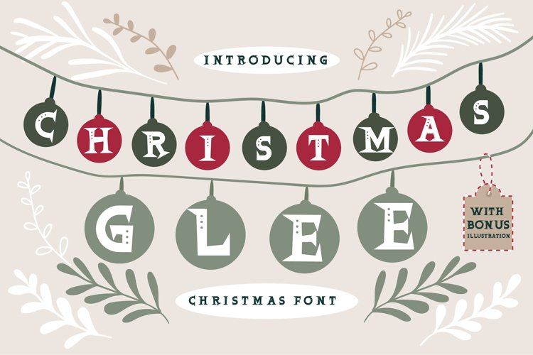 Christmas Glee example image 1