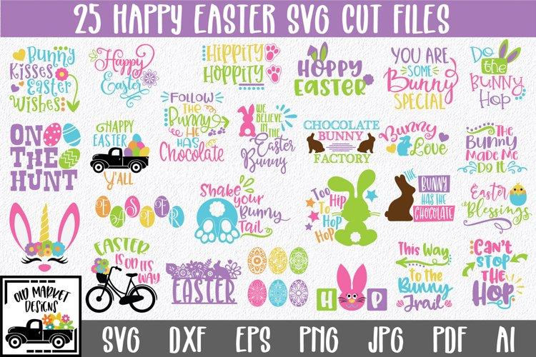 Easter SVG Bundle with 25 SVG Cut Files