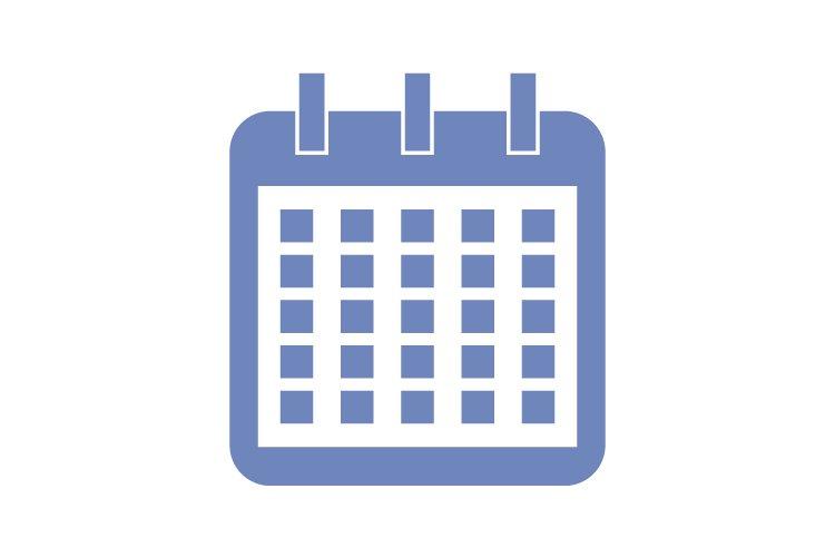 Calendar icon example image 1