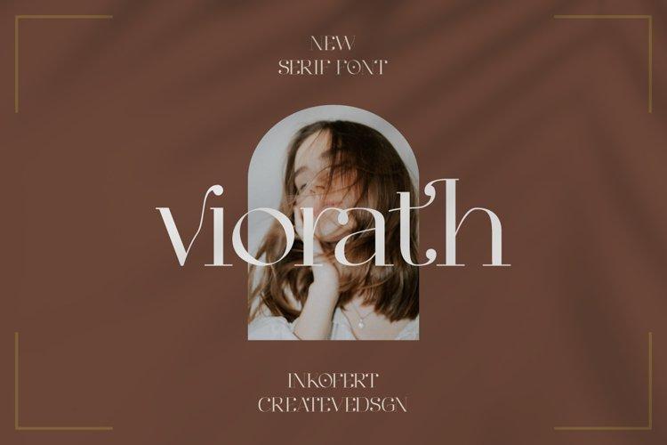 Viorath Moern Serif Font example image 1
