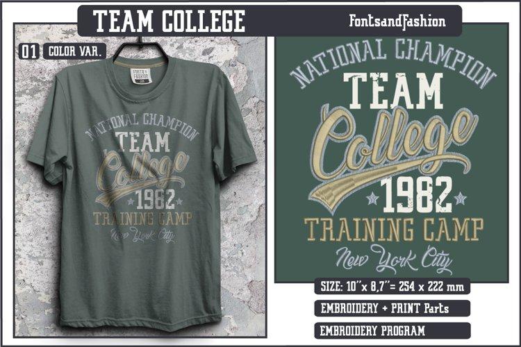 Team College example image 1