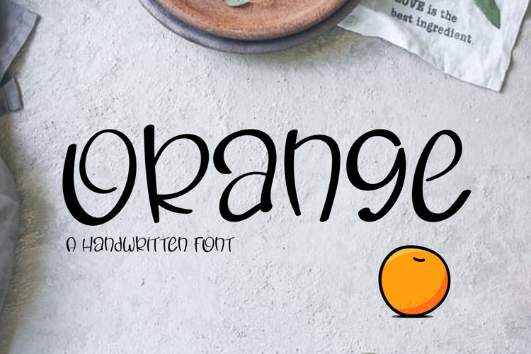 Orange example image 1